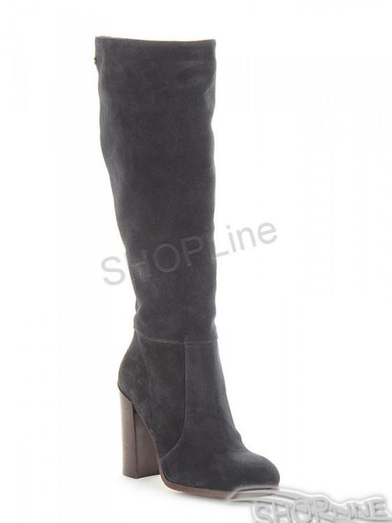 Čižmy Tommy Hilfiger High Suede Boot Hg 3B - FW56821613403  a63bd63318b