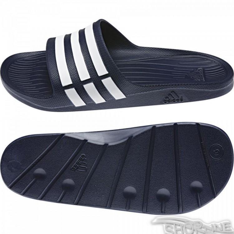promo code 75144 be3ed Šľapky Adidas Duramo Slide - G15892