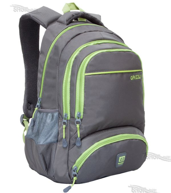 266242175b Školský batoh Grizzly - RU-618-64