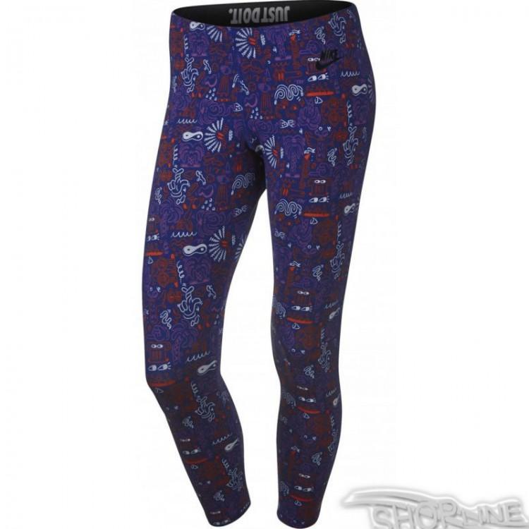 48191c6ca392 Legíny Nike Sportswear Leg-A-See Cropped AOP W - 777558-455 ...