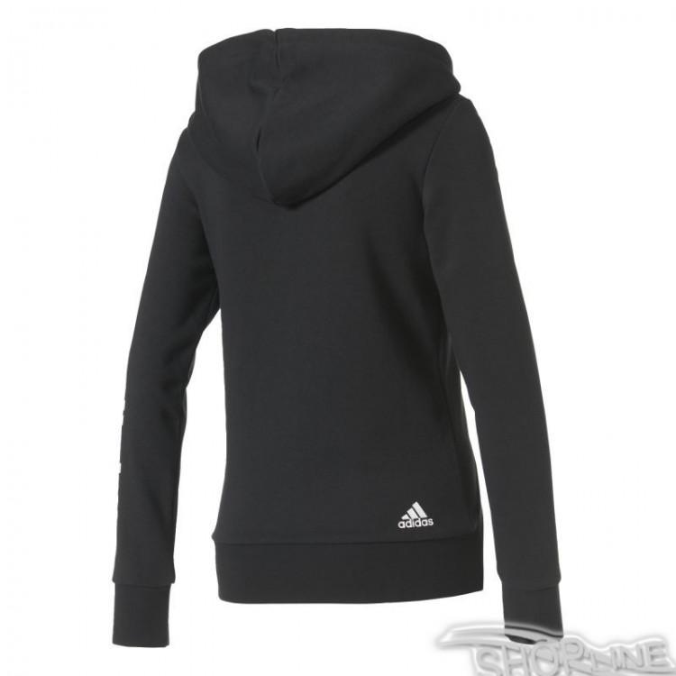 Mikina Adidas Essentials Linear Full Zip Hoodie W - S97076  50d78cbf5bc