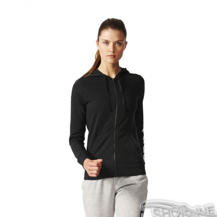 eb130f403 Mikina Adidas Essentials Linear Full Zip Hoodie W - S97076 | Shopline.sk