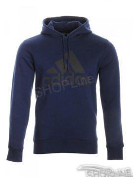 Mikina Adidas Logo Hood B - AB6548