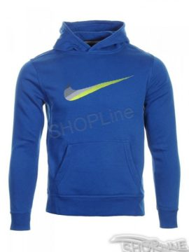 Mikina Nike Ya76 Hbr Swoosh Bf Oth Hdy Yth - 619079-431
