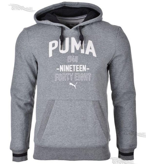 Mikina Puma Style ATHL Hooded Sweat FL - 834119-03  95adad6b796