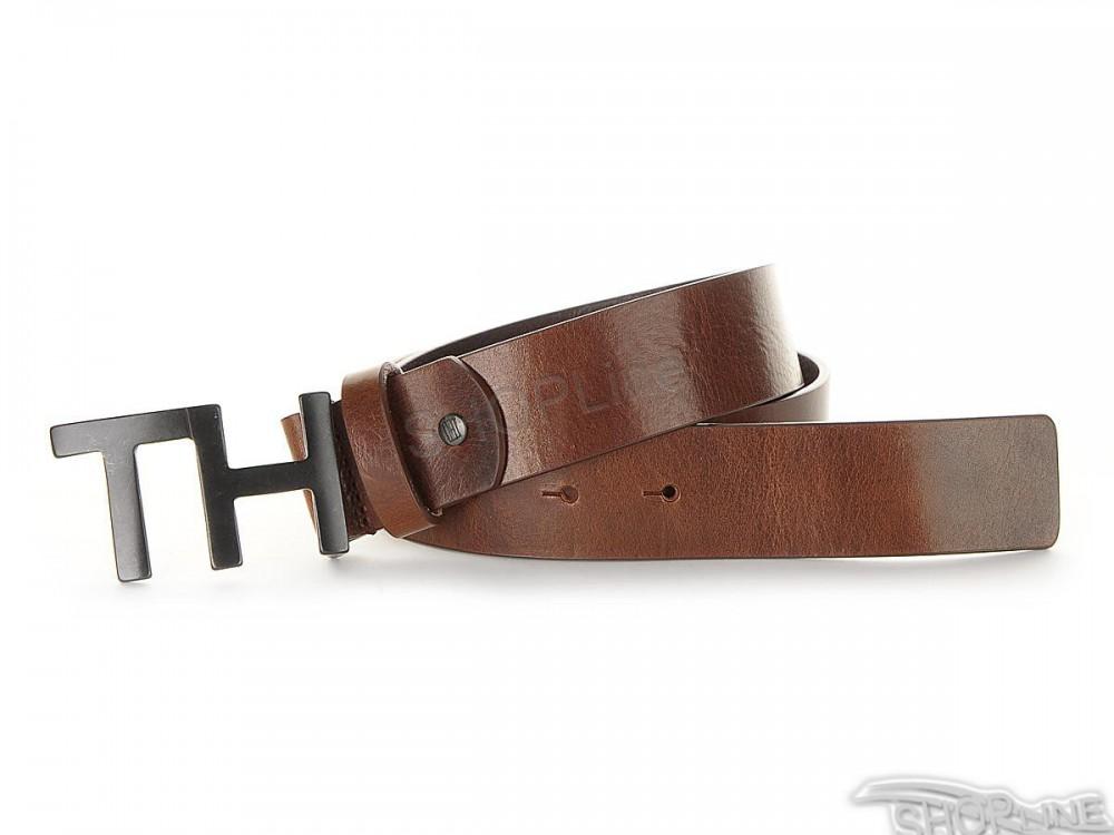 684c045949 Opasok Tommy Hilfiger TH Metal Logo 3.5 Adj - AM0AM01642244 ...
