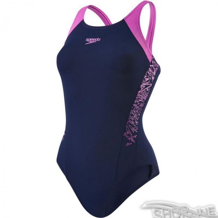 bcb52441e Plavky Speedo Boom Splice Muscleback W - 8-10821B372 | Shopline.sk