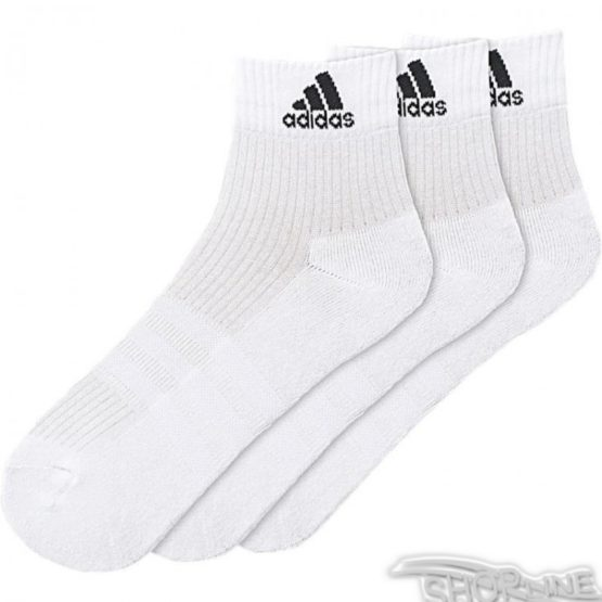 Ponožky Adidas 3 Stripes Performance Ankle Half Cushioned 3pak - AA2285