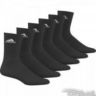 Ponožky Adidas 3 Stripes Performance CR HC 6pak - AA2295