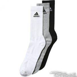 Ponožky Adidas 3 Stripes Performance Crew 3pak - AA2299