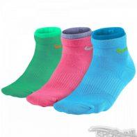 Ponožky Nike Lightweight Cotton Quarter 3pak W - SX4730-983
