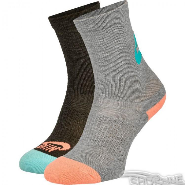 Ponožky Nike Sportswear Just Do It 2pak W - SX5443-902  9294ec61dd