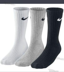 Ponožky Nike Value Cotton 3pack - SX4508-965