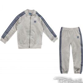 Súprava Adidas ORIGINALS Medium Grey Heather Tracksuit Kids - S95995