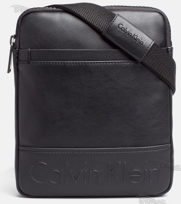 8d19531ba2f3 Taška Calvin Klein Bennet Flat Crossover - K50K502828001 | Shopline.sk
