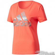 Tričko Adidas Essentials Foil Bos Regular Tee W - CD1955