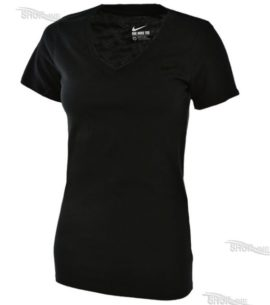 Tričko Nike Nsw Tee Vneck Futura Swoosh - 826580-010