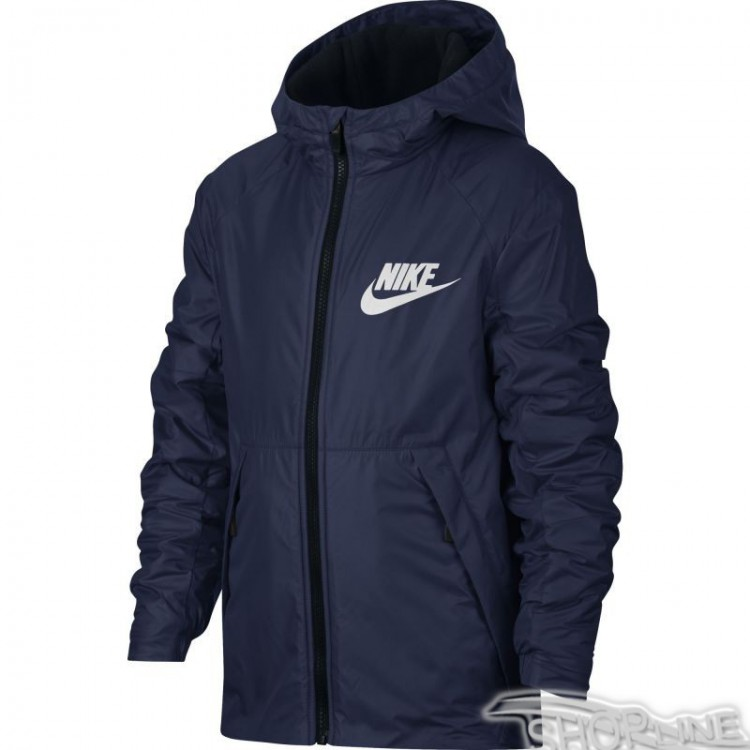 Bunda Nike Sportswear Lined Fleece Junior - 856195-429  cfcb035f1b0