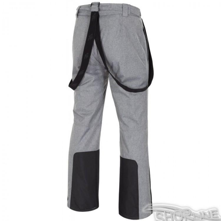 Lyžiarske nohavice 4f - H4Z17-SPMN001-SZARY-MELANZ. Lyžiarske ... e79e9504567