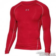 Tričko Under Armour HeatGear Compression Longsleeve - 1257471-600