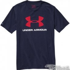 Tričko Under Armour Sportstyle Logo T-Shirt M - 1257615-410