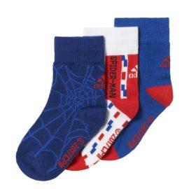 Ponožky Adidas Marvel Spiderman Socks Kids 3pak - CD2696