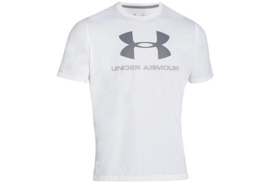 Tričko Under Armour Sportstyle Logo - 1257615-100