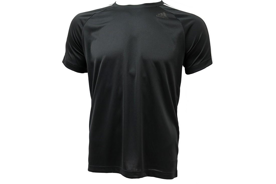 Tričko Adidas D2M 3-Stripes Tee - BK0970  3d273f3074