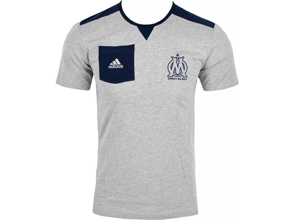 Tričko Adidas OM SF Tee - F85713  e47374beebc