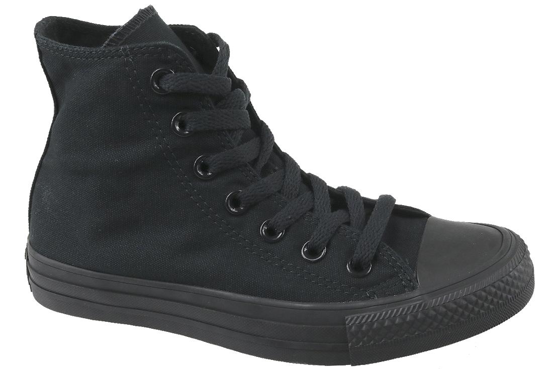 ee1635d6c5e0 Plátenky Converse C. Taylor All Star Hi All Black - M3310