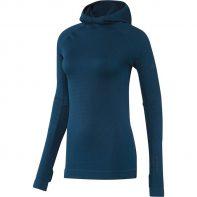 Mikina Adidas Seamless Climaheat Hooded Longsleeve W - AP7347