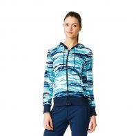 Mikina Adidas Essentials Hoody All Over Print W - AY4877