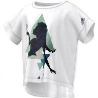 Tričko Adidas Elsa Boxy Tee Junior - AY6081