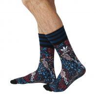 Ponožky Adidas ORIGINALS Print Flowers M - AZ0166