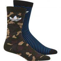 Ponožky Adidas ORIGINALS Thin Crew Sock 2pak - BK5818