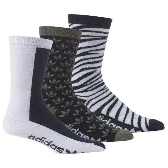 Ponožky Adidas ORIGINALS Crew 3P - M30638
