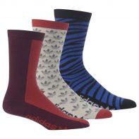 Ponožky Adidas ORIGINALS Crew Sock 3pak - M30639