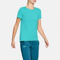 Tričko Under Armour HeatGear Short Sleeve W - 1285637-425