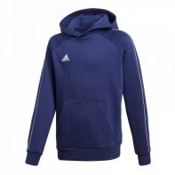 Mikina Adidas Core 18 Hoody Junior - CV3430