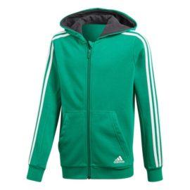 Mikina Adidas YB 3S FZ Hoodie Jr - CF6587