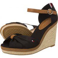 Sandálky Tommy Hilfiger Elena 56D - FW0FW00905-990