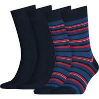 Ponožky Tommy Hilfiger Men Variation Stripe So 085 - 342010001-085