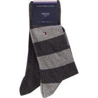 Ponožky Tommy Hilfiger MEN RUGBY SOCK 2PACK 201 - 342021001-201