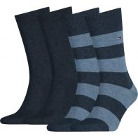 Ponožky Tommy Hilfiger Men Rugby Sock - 342021001-356