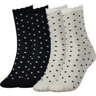 Ponožky Tommy Hilfiger Women Classy Cocktail 300 - 373002001-300