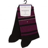 Ponožky Tommy Hilfiger WOMEN ACCENT STRIPE SOCK 2P 200 - 473002001-200