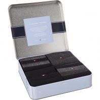 Ponožky Tommy Hilfiger MEN STRIPE BOX 4PACK 200 - 482002001-200