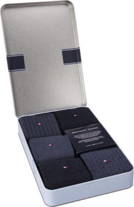 Ponožky Tommy Hilfiger MEN BIRDEYE BOX 5PACK - 482003001-322