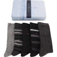 Ponožky Tommy Hilfiger MEN BIRDEYE BOX 5PACK - 482010001-200