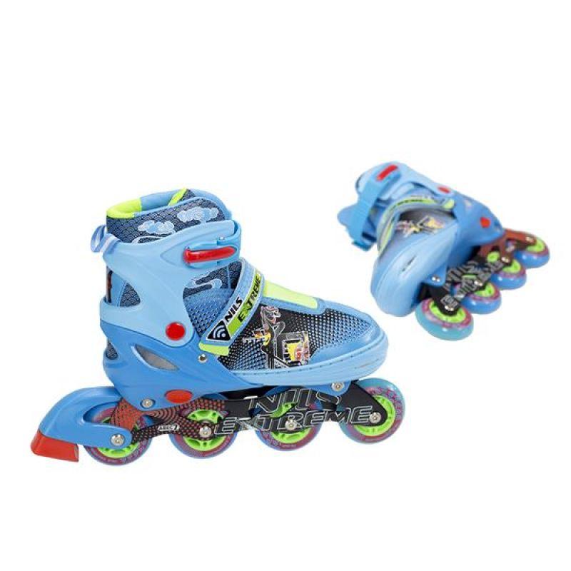 0a26208ca0a12 Kolieskové korčule Nils Extreme Blue NJ4613 A 30-33 - 16-00-070 ...